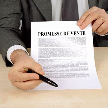 promesse de vente